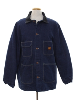 1980's Mens Denim Barn Jacket
