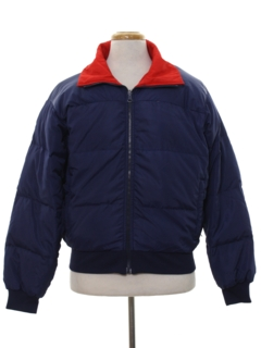 1980's Mens Totally 80s Reversible Ski Jacket