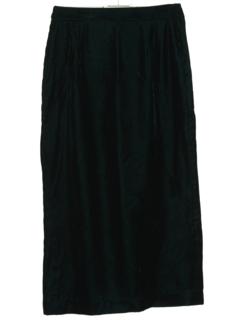 1960's Womens Velvet Skirt