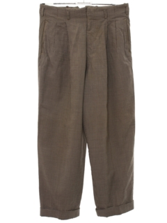 1940's Mens Pleated Slacks Pants