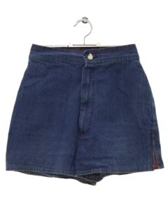 1970's Womens/Girls Denim Shorts