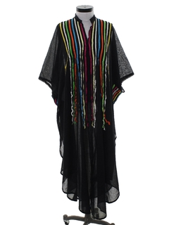 1970's Unisex Hippie Caftan Dress