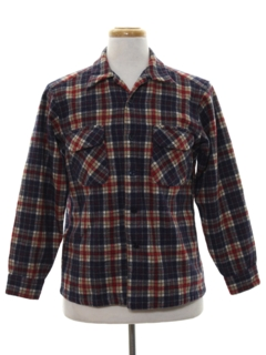 1960's Mens Pendleton Wool Shirt