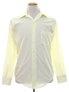 1960's Mens Mod Dress Shirt