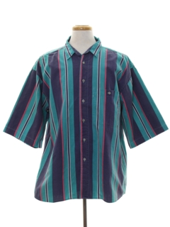1980's Mens Totally 80s Sport Shirt