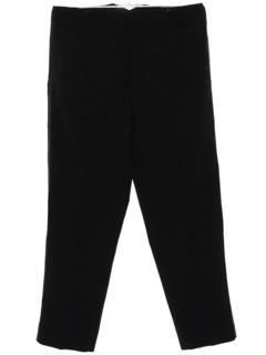 1940's Mens Tuxedo Pants