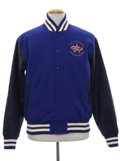 1990's Mens Wool Letterman Jacket
