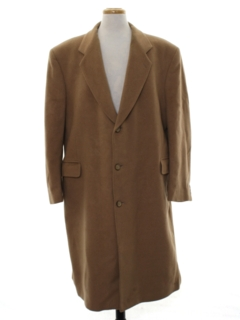 1990's Mens Wool Overcoat Jacket