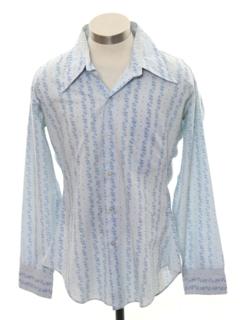 1960's Mens Print Shirt