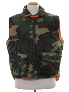 1990's Mens Reversible Hunting Vest Jacket