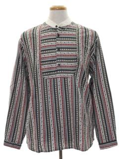 1920's Mens Pioneer 1800s Style Western Shirt