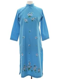 1970's Womens Maxi çTunic Dress