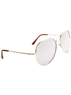 1970's Unisex Accessories --Aviator Mirrored Sunglasses