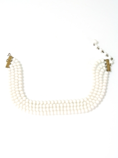 1950's Womens Accessories - Jewelry Choker Necklace
