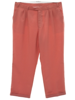 1980's Mens Pleated Slacks Pants