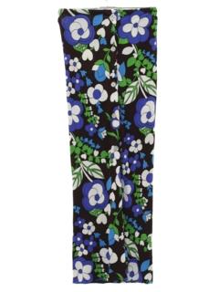 1960's Womens Mod Maxi Skirt