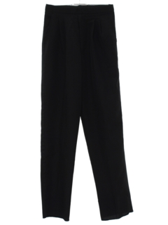 1980's Womens Tuxedo Pants