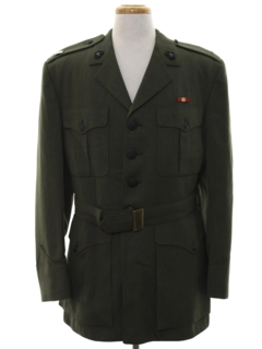 1960's Mens Marines Military Jacket