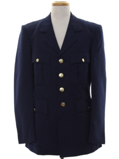 1980's Mens Foreign Military Jacket