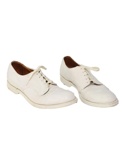 1940's Mens Accessories - Oxford Shoes
