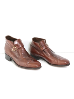 1970's Mens Accessories - Mod Ankle Boots Shoes