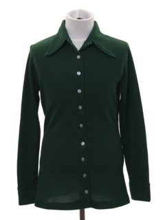 1970's Womens/Girls Mod Knit Shirt
