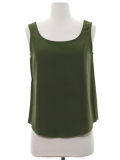 1980's Womens Tank Top Shirt