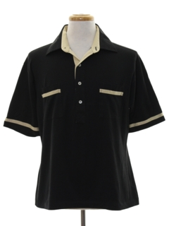 1980's Mens Polo Style Shirt