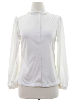1980's Womens Secretary Shirt