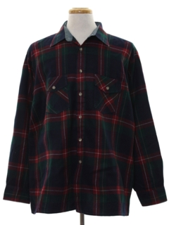 1980's Mens Flannel Shirt