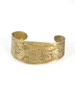 1970's Womens Accessories - Hippie Cuff Bracelet
