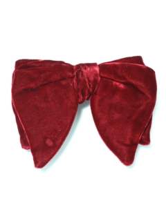 1970's Mens Accessories - Clip On Bowtie Necktie