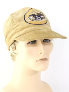 1980's Mens Accessories - Corduroy Trucker Baseball Hat