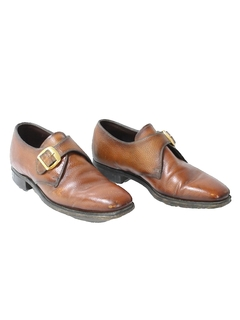 1960's Mens Accessories - Mod Leather Shoes