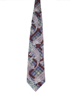 1980's Mens Wide Necktie