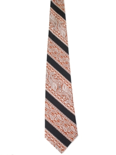 1960's Mens Wide Diagonal Necktie