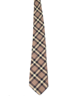 1960's Mens Wide Flannel Necktie