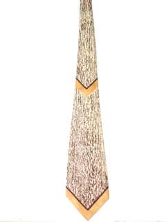 1940's Mens Abstract Wide Swing Necktie