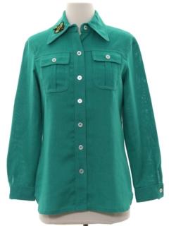 1970's Womens Leisure Shirt Jacket
