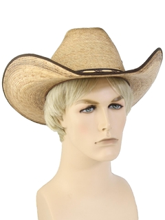 1990's Mens Accessories - Wide Brimmed Western Hat