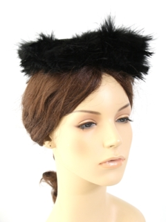 1940's Womens Accessories - Fascinator Hat
