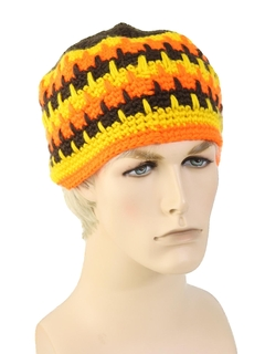 1970's Unisex Accessories - Crocheted Hat