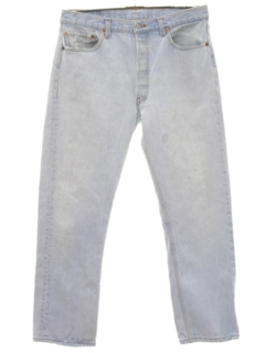 1980's Mens Buttonfly Jeans Pants