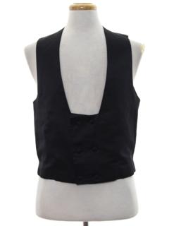 1970's Mens Formal Vest