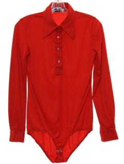 1970's Womens Mod Onesy Shirt