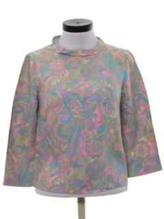 1960's Womens Mod Shirt