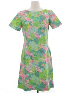 1950's Womens Wiggle Style Dress