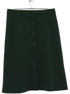 1970's Womens Midlength Knit Skirt