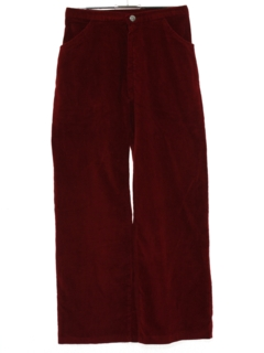 1960's Womens Corduroy Flared Pants