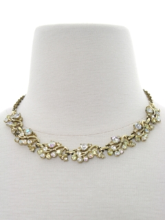 1960's Womens Accessories - Jewelry Choker Necklace